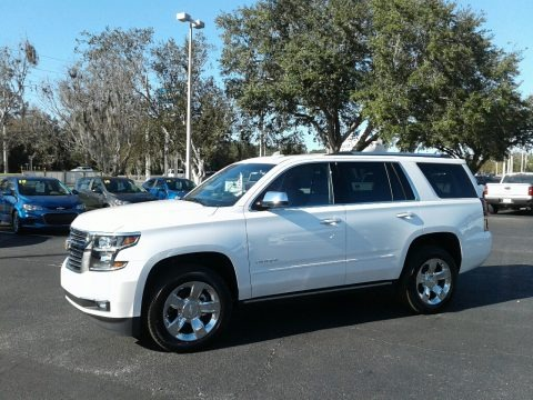 Iridescent Pearl Tricoat 2018 Chevrolet Tahoe Premier 4WD