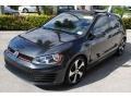 Volkswagen Golf GTI 4 Door 2.0T SE Carbon Steel Metallic photo #4