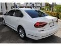 Volkswagen Passat S Sedan Pure White photo #6