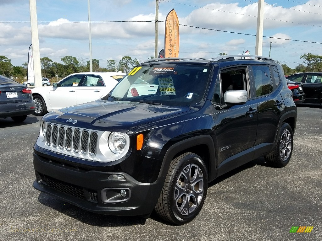 2017 Renegade Limited - Black / Black photo #1