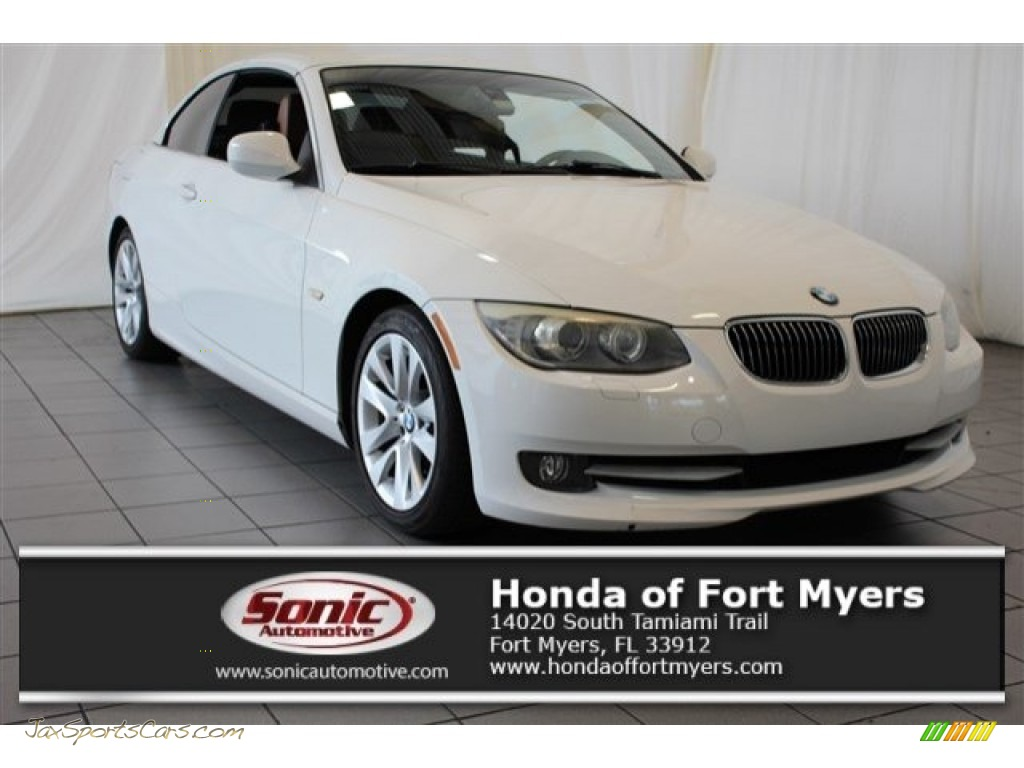 2011 3 Series 328i Convertible - Alpine White / Saddle Brown Dakota Leather photo #1