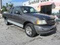 Ford F150 XLT SuperCab Dark Shadow Grey Metallic photo #5