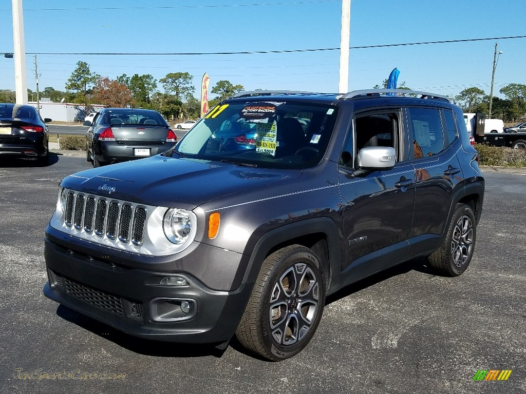 2017 Renegade Limited - Granite Crystal Metallic / Black photo #1