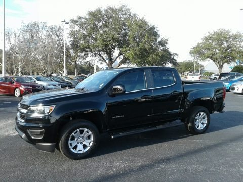 Black 2018 Chevrolet Colorado LT Crew Cab