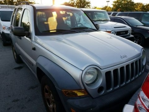 Bright Silver Metallic 2007 Jeep Liberty Sport