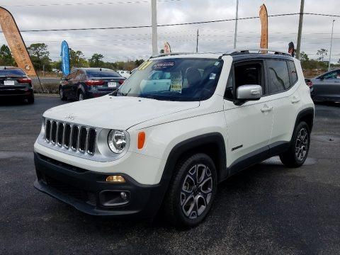 Alpine White 2017 Jeep Renegade Limited