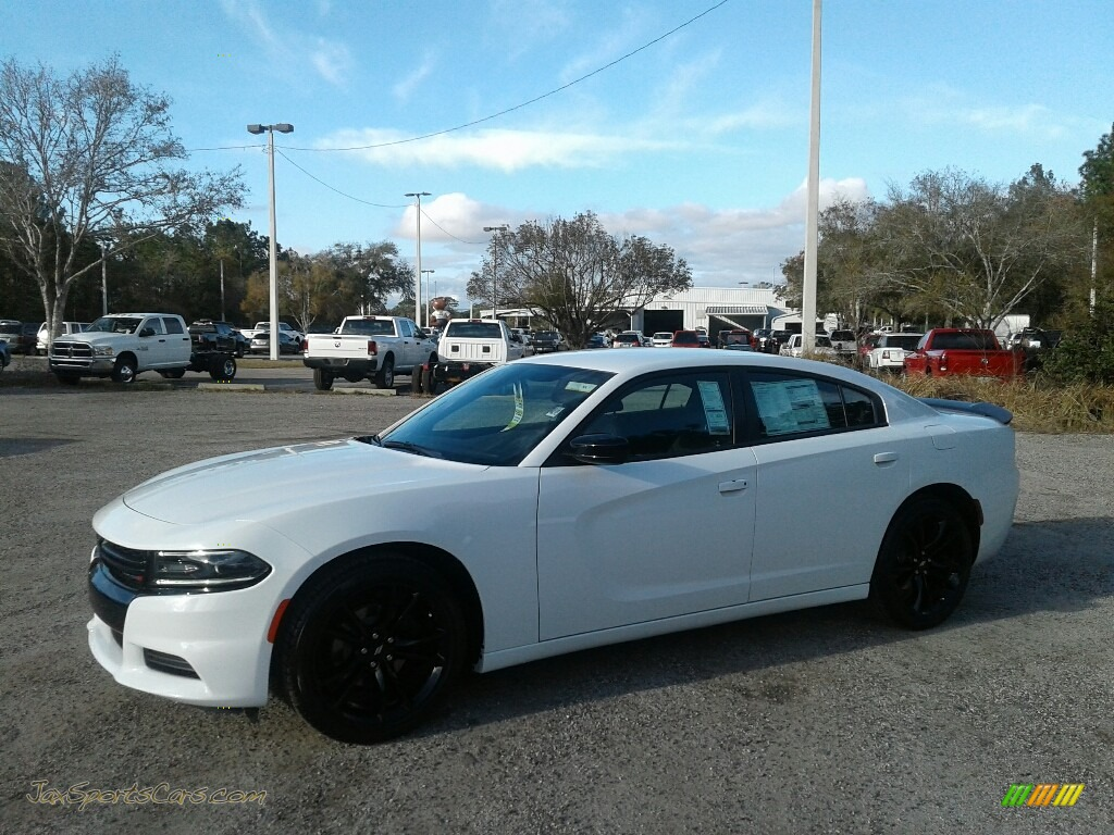 White Knuckle / Black Dodge Charger SXT