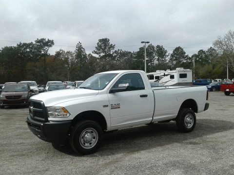 Bright White 2018 Ram 2500 Tradesman Regular Cab 4x4
