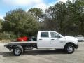 Ram 3500 Tradesman Crew Cab 4x4 Chassis Bright White photo #6