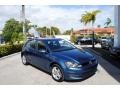 Volkswagen Golf 4 Door 1.8T Wolfsburg Silk Blue Metallic photo #1