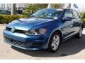 Volkswagen Golf 4 Door 1.8T Wolfsburg Silk Blue Metallic photo #5
