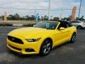 Ford Mustang V6 Convertible Triple Yellow Tricoat photo #1