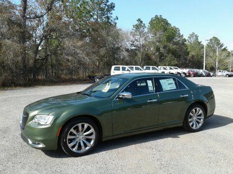 Green Metallic 2018 Chrysler 300 Limited