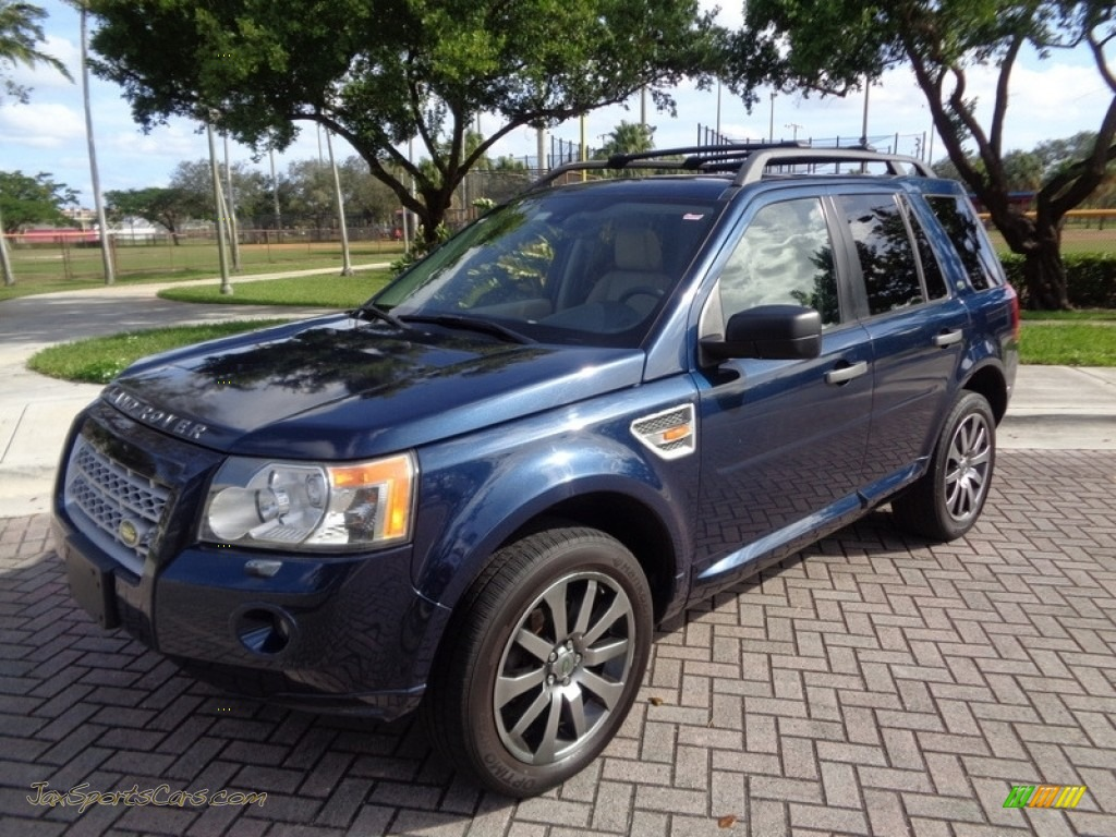 2008 LR2 HSE - Baltic Blue Metallic / Alpaca Beige photo #1