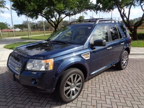 Baltic Blue Metallic 2008 Land Rover LR2 HSE