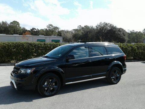 Pitch Black 2018 Dodge Journey Crossroad