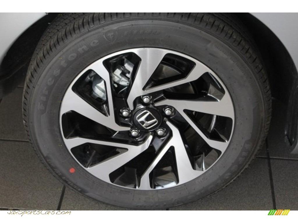 2018 Civic LX Coupe - Lunar Silver Metallic / Gray photo #11