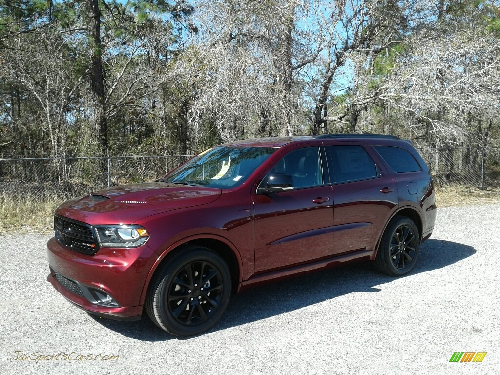 2018 Durango GT - Octane Red Pearl / Black photo #1