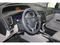 Honda Civic LX Sedan Alabaster Silver Metallic photo #17