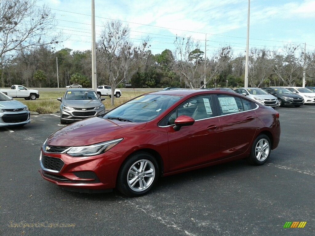 2018 Cruze LT - Cajun Red Tintcoat / Jet Black photo #1