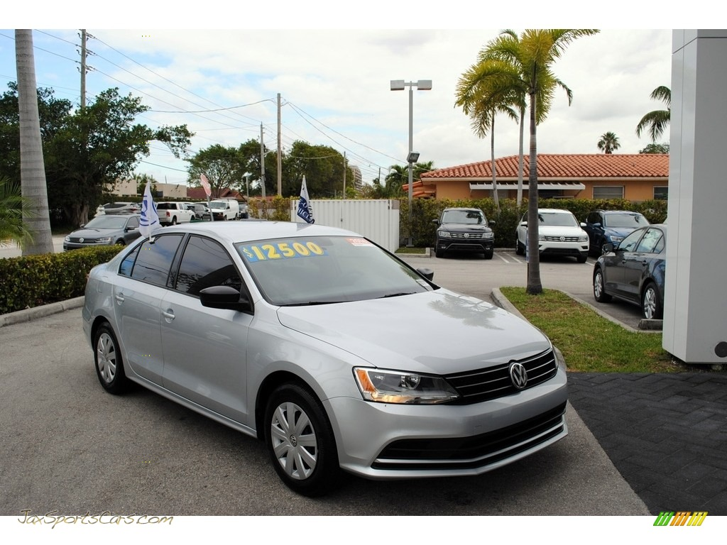 2016 Jetta S - Reflex Silver Metallic / Titan Black photo #1