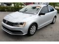 Volkswagen Jetta S Reflex Silver Metallic photo #4
