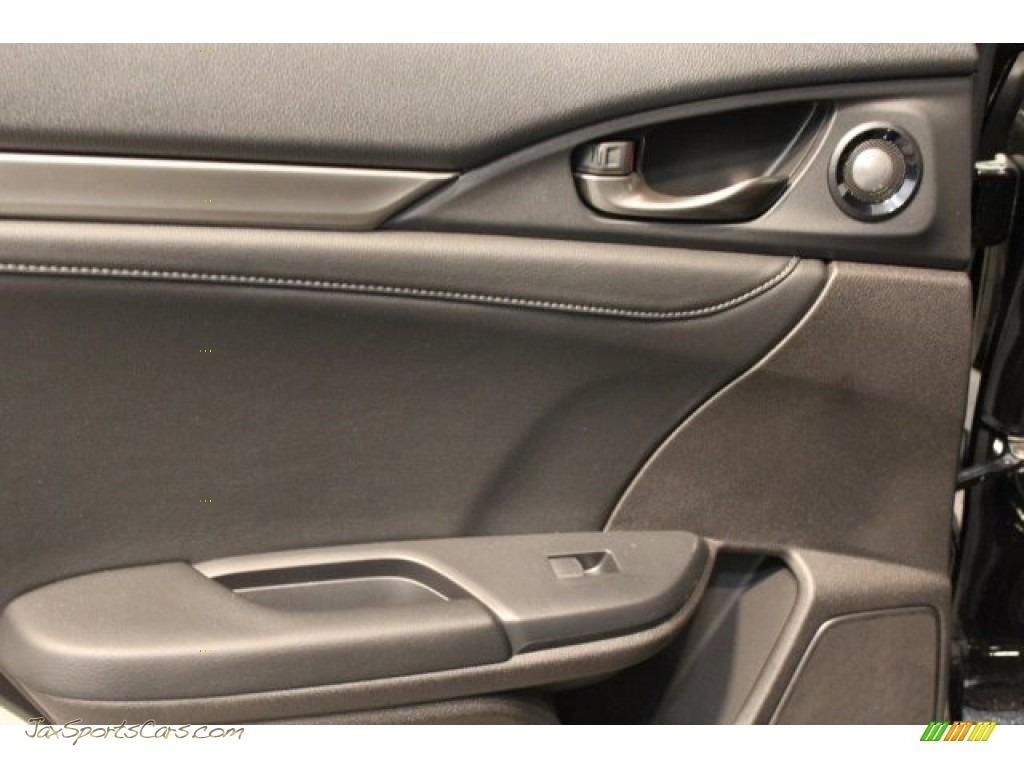 2018 Civic Sport Touring Hatchback - Crystal Black Pearl / Black photo #24
