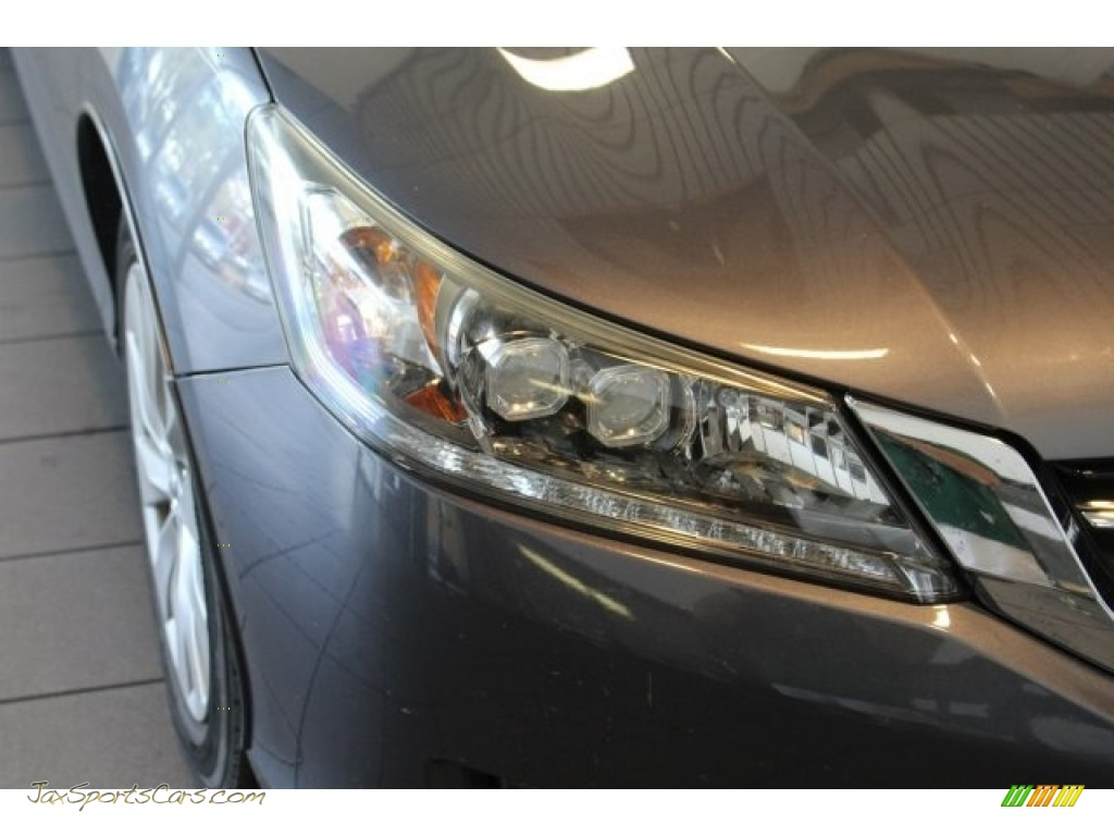 2014 Accord Touring Sedan - Modern Steel Metallic / Gray photo #6