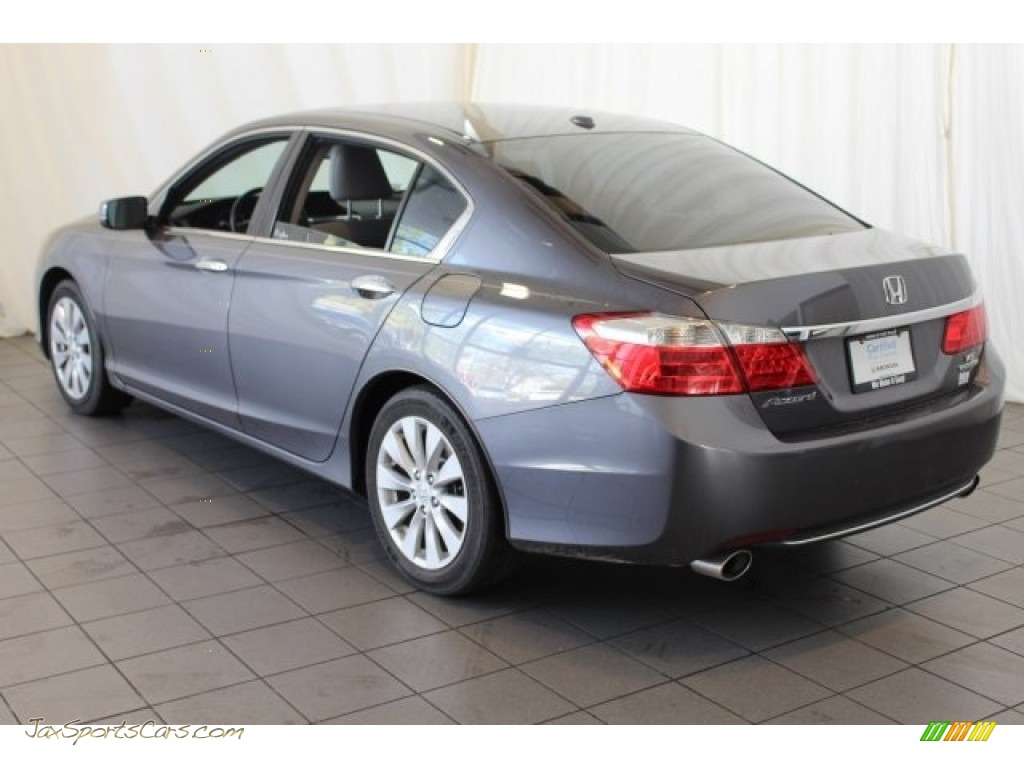 2014 Accord Touring Sedan - Modern Steel Metallic / Gray photo #7