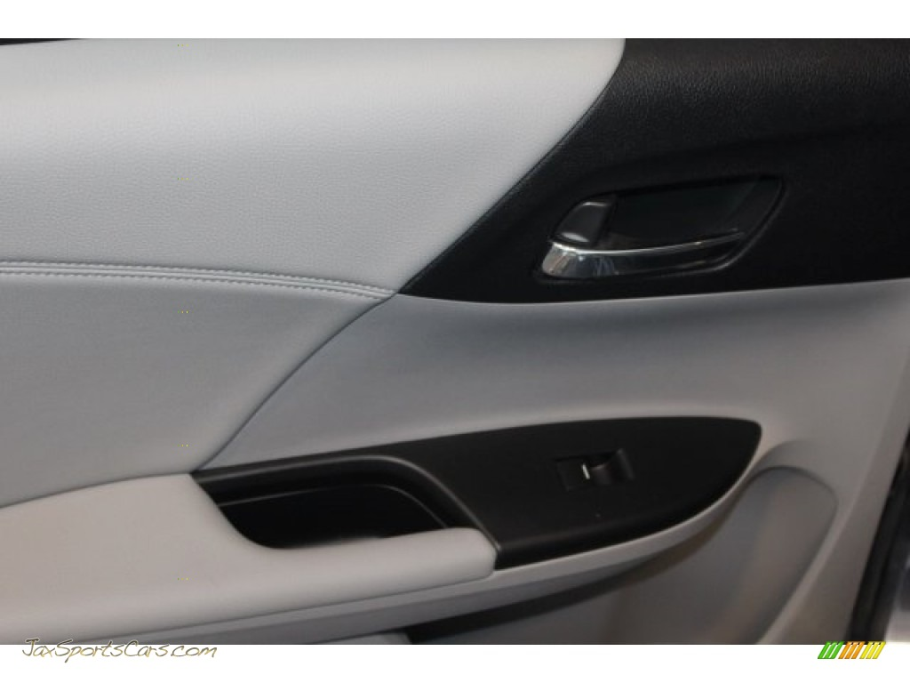 2014 Accord Touring Sedan - Modern Steel Metallic / Gray photo #38