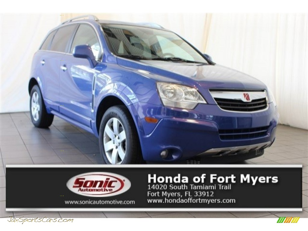 2008 VUE XR - Mystic Blue / Gray photo #1