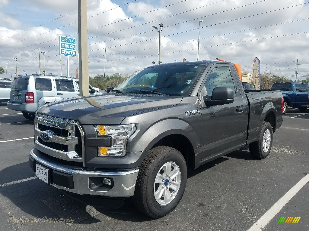 2016 F150 XL Regular Cab - Lithium Gray / Medium Earth Gray photo #1