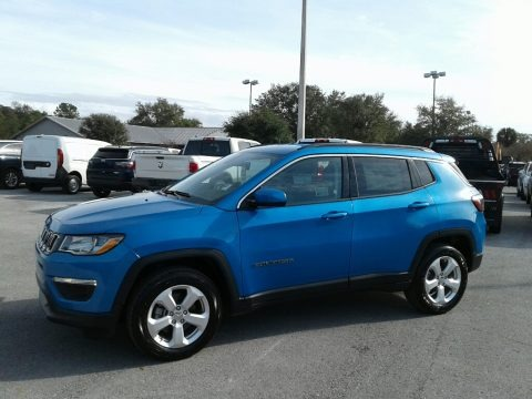 Laser Blue Pearl 2018 Jeep Compass Latitude