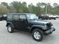 Jeep Wrangler Unlimited Sport 4x4 Black photo #7