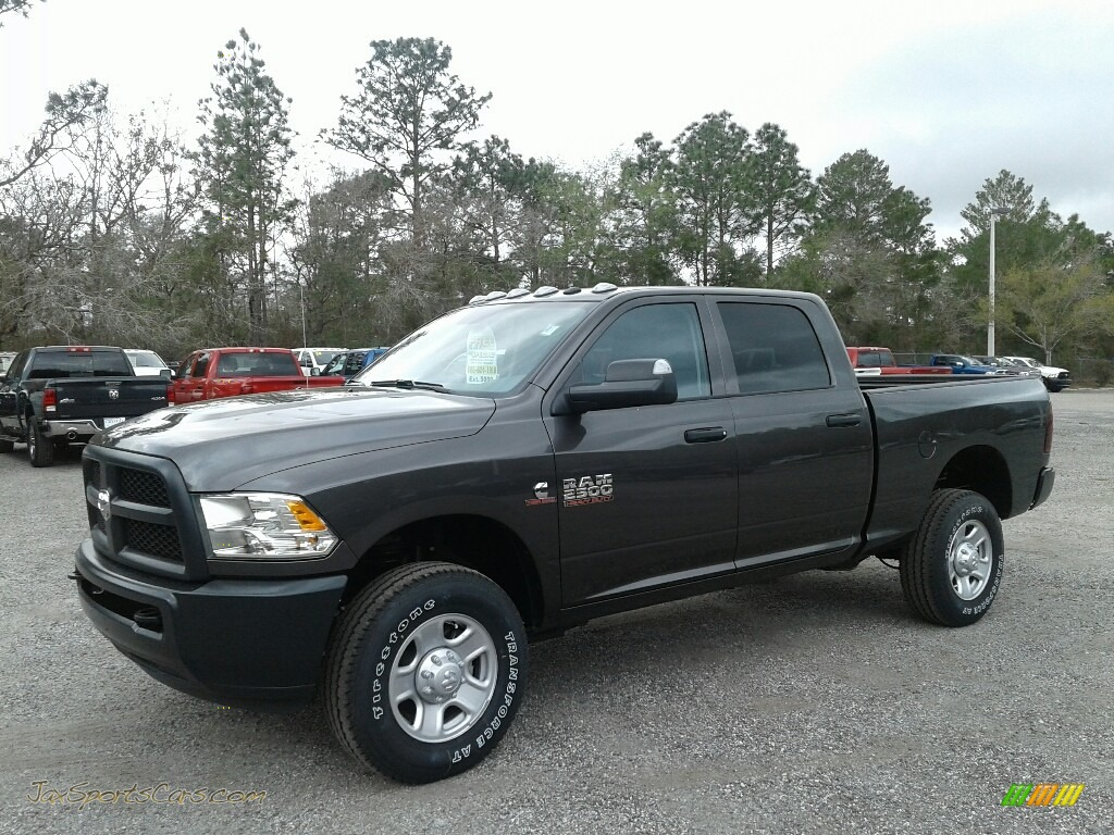 Granite Crystal Metallic / Black/Diesel Gray Ram 2500 Tradesman Crew Cab 4x4