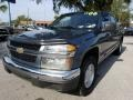 Chevrolet Colorado LT Crew Cab Blue Granite Metallic photo #7