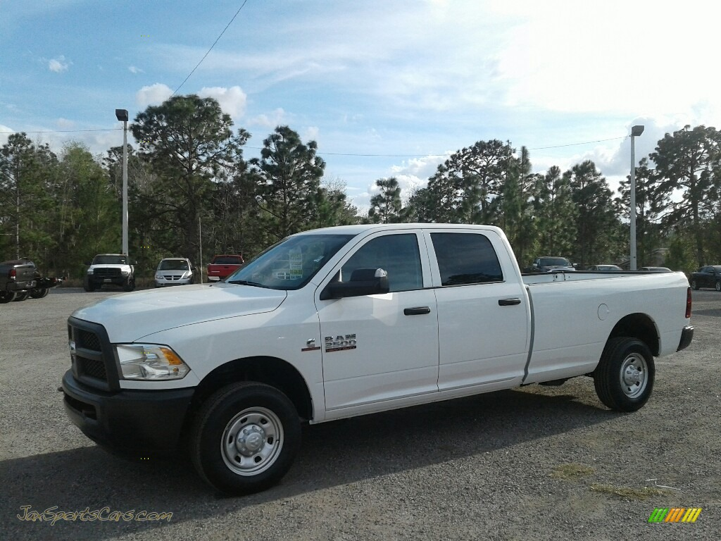 2018 2500 Tradesman Crew Cab - Bright White / Black/Diesel Gray photo #1