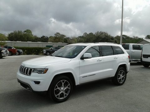 Bright White 2018 Jeep Grand Cherokee Sterling Edition