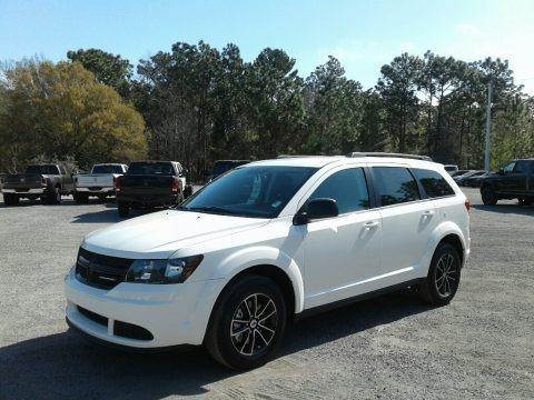 Vice White 2018 Dodge Journey SE