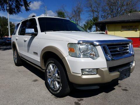 Oxford White 2007 Ford Explorer Eddie Bauer