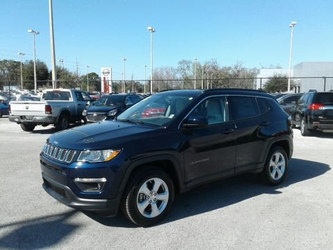 Jazz Blue Pearl 2018 Jeep Compass Latitude