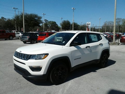 White 2018 Jeep Compass Sport