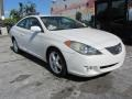 Toyota Solara SE V6 Coupe Arctic Frost Pearl White photo #5