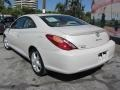 Toyota Solara SE V6 Coupe Arctic Frost Pearl White photo #8