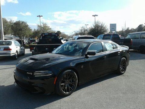 Pitch Black 2018 Dodge Charger SRT Hellcat