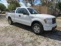 Ford F150 STX SuperCab 4x4 Oxford White photo #2