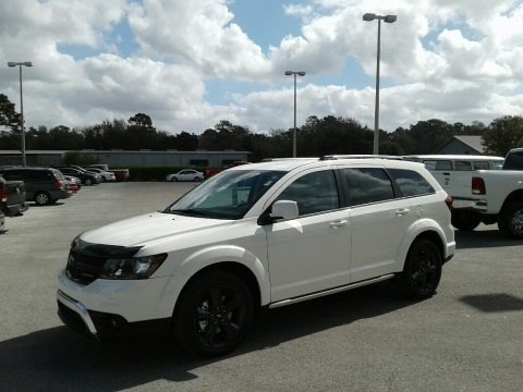 Vice White 2018 Dodge Journey Crossroad