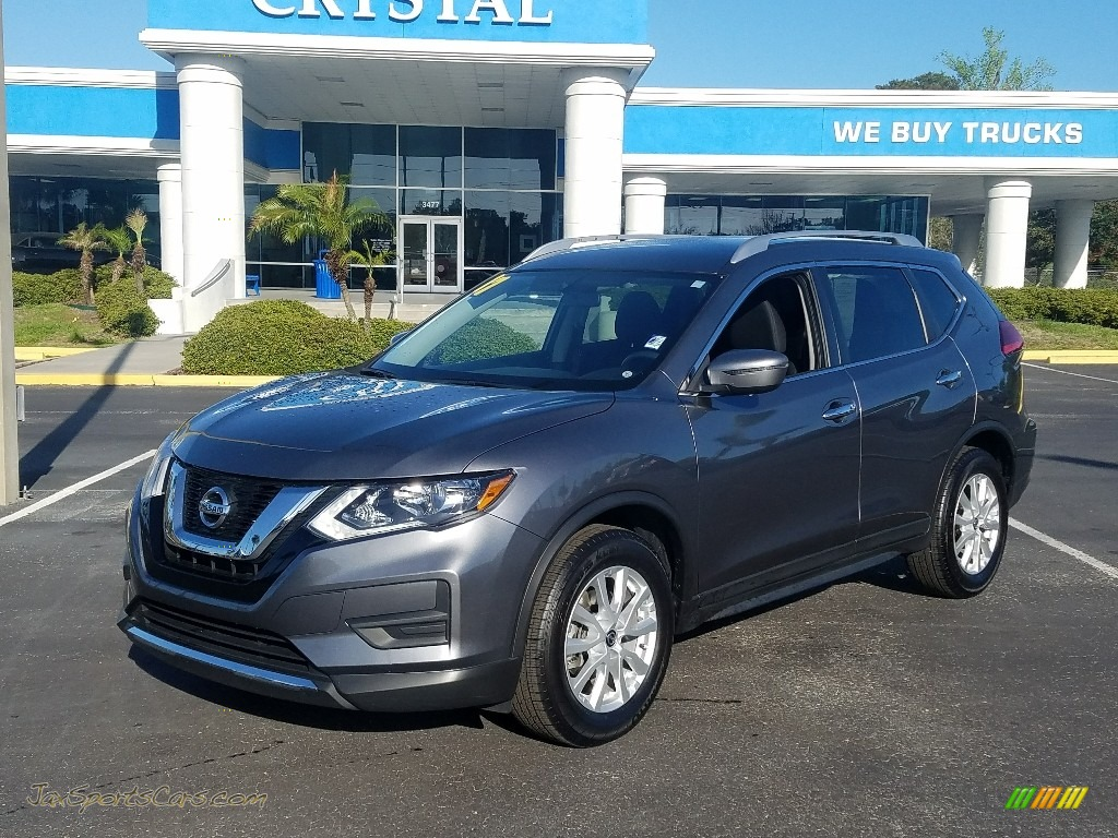 2017 Rogue SV - Gun Metallic / Charcoal photo #1