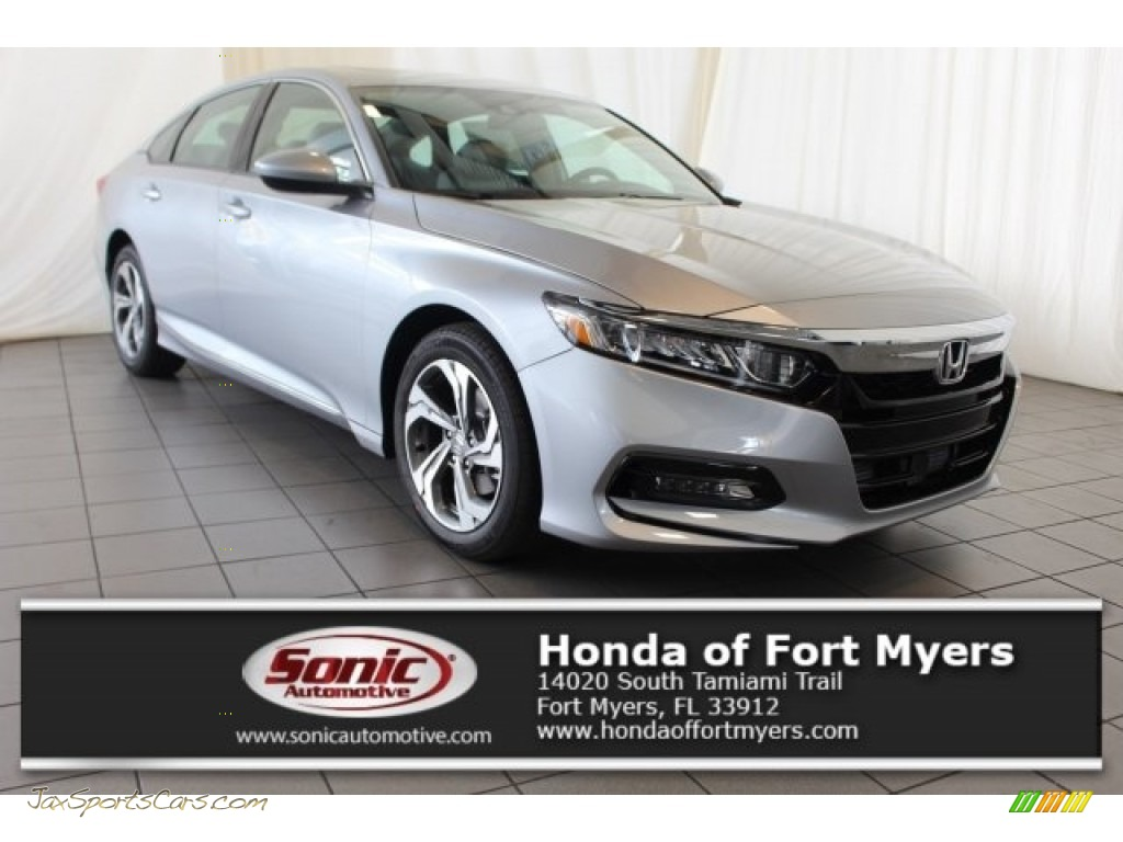 2018 Accord EX Sedan - Lunar Silver Metallic / Gray photo #1