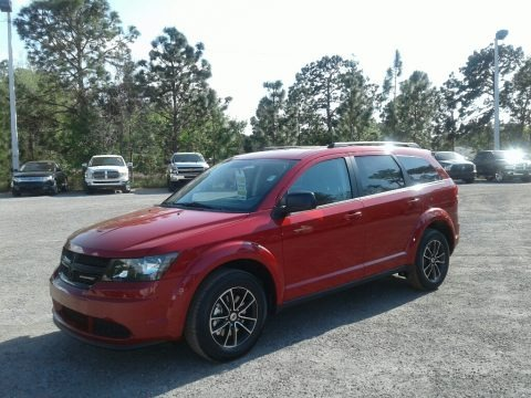 Redline 2018 Dodge Journey SE